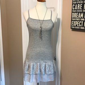 NWOT heathered dress / tunic size small 💕
